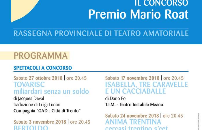 Programma Palcoscenico Trentino