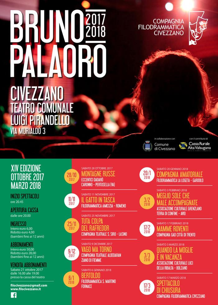 Rassegna Bruno Palaoro 2017-2018
