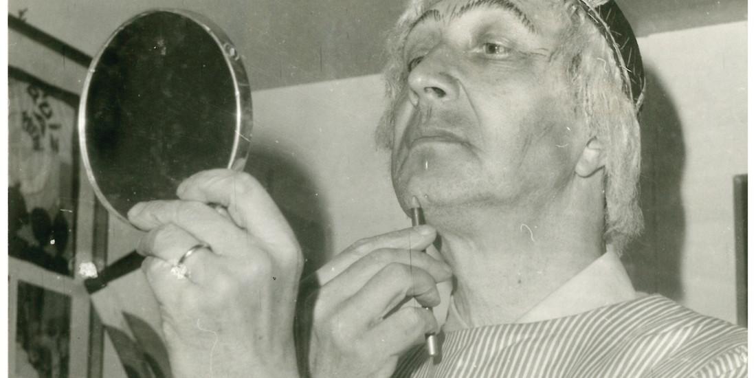 Mario Roat al trucco per Sior Todero brontolon (1975)