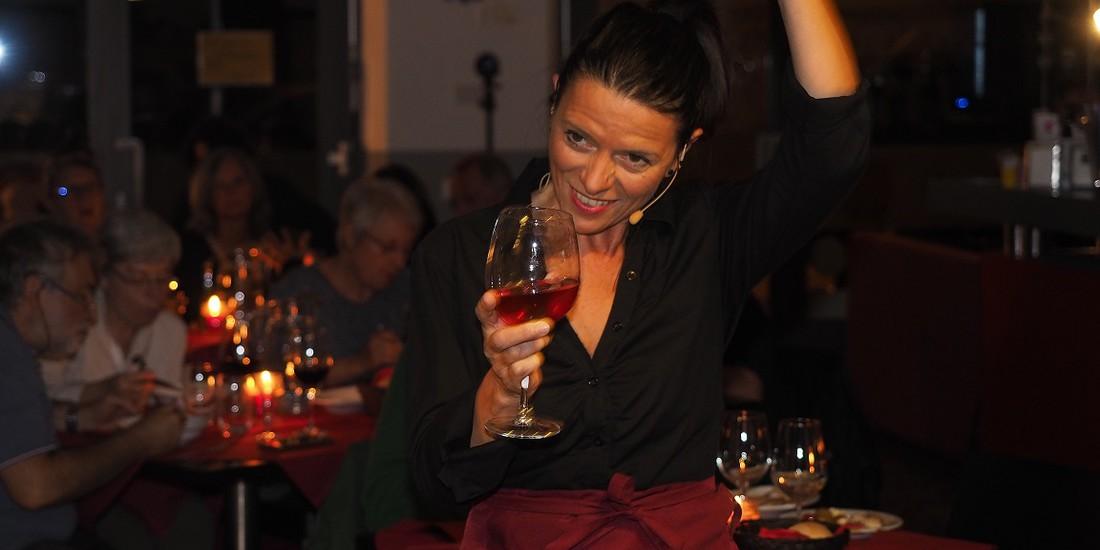 per me il vino è maschio - divini note