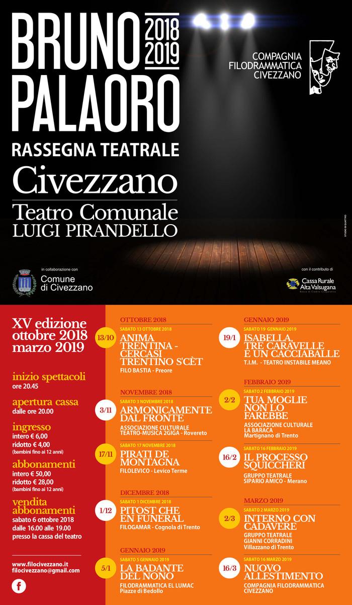 Rassegna Bruno Palaoro 2018-19