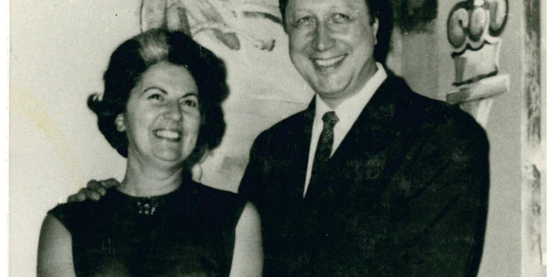 Mario Roat e la moglie Carla (1968)